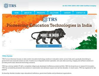 trsforms.com screenshot