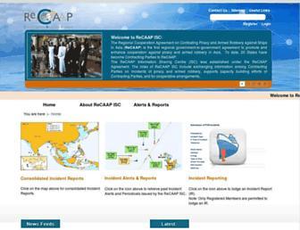 recaap.org screenshot