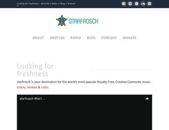 starfrosch.com screenshot