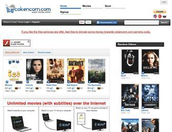 cokencorn.com screenshot