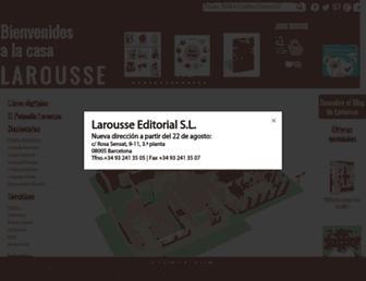 larousse.es screenshot