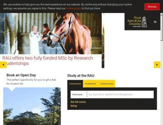 Thumbshot of Rau.ac.uk