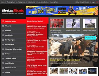 medanbisnisdaily.com screenshot