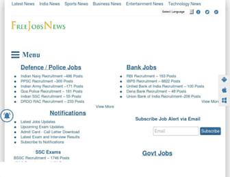 freejobsnews.com screenshot
