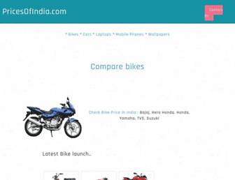 Thumbshot of Pricesofindia.com