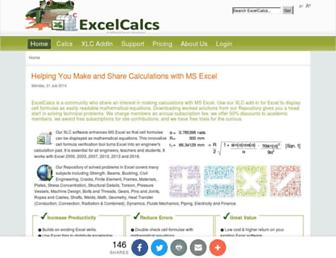 excelcalcs.com screenshot
