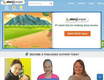 storyjumper.com screenshot