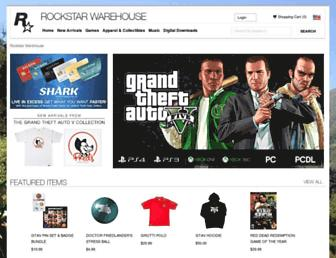 rockstarwarehouse.com screenshot