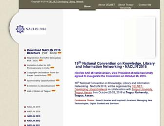 naclin.org screenshot