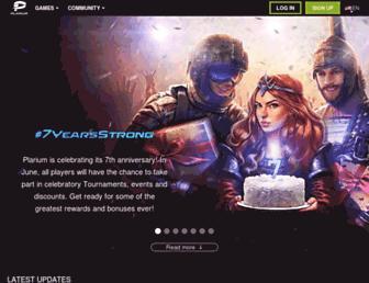 Screenshot for plarium.com