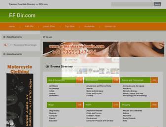 Thumbshot of Efdir.com