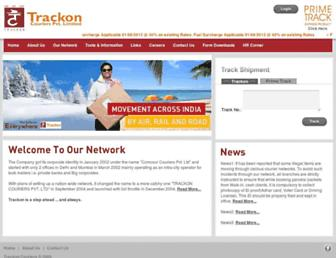 Thumbshot of Trackoncourier.com