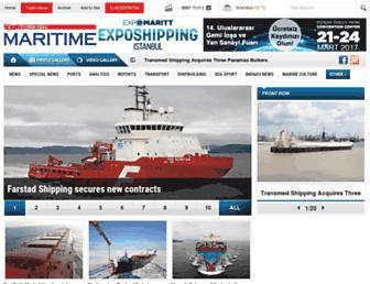 turkishmaritime.com.tr screenshot