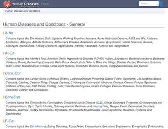 Thumbshot of Humanillnesses.com