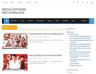 allmixingsoftware.blogspot.com screenshot