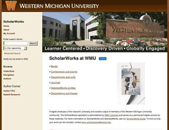 scholarworks.wmich.edu screenshot