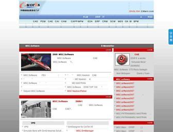 Main page screenshot of msc.e-works.net.cn