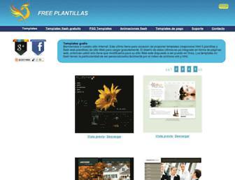 freeplantillas.com screenshot