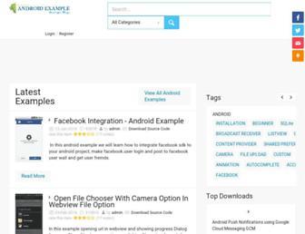 androidexample.com screenshot