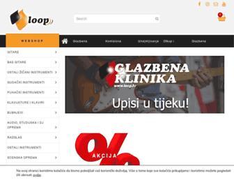 loop.hr screenshot