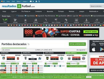 Thumbshot of Resultados-futbol.com