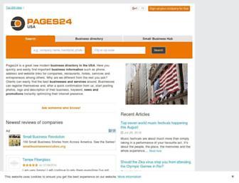 pages24.com screenshot