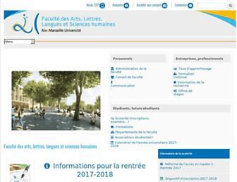 allsh.univ-amu.fr screenshot