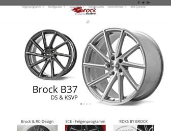 brock.de screenshot