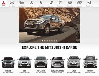 Thumbshot of Mitsubishi-cars.co.uk