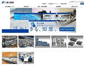 fujielectric.co.jp screenshot