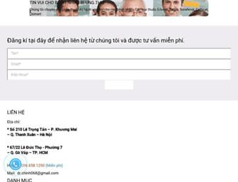 nhathuocanhchinh.com screenshot