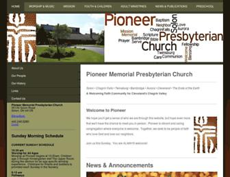 pioneersolon.org screenshot