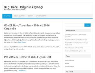 bilgikafe.com screenshot