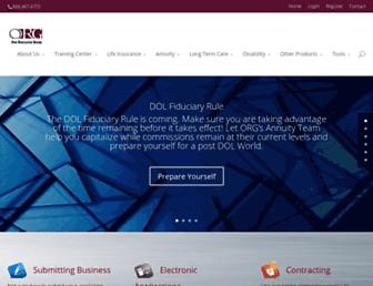 orgcorp.com screenshot