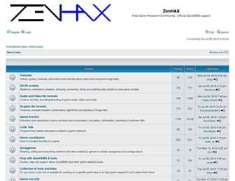zenhax.com screenshot