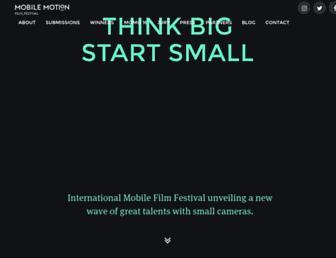 momofilmfest.com screenshot