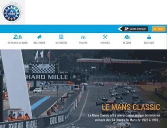 lemans.org screenshot