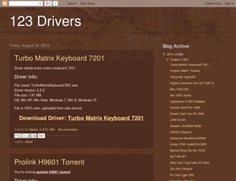 123-drivers.blogspot.com screenshot