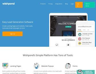 Thumbshot of Wishpond.com