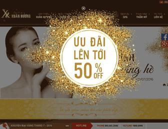 thammyxuanhuong.com screenshot