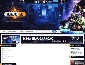 viciadosmu.com.br screenshot
