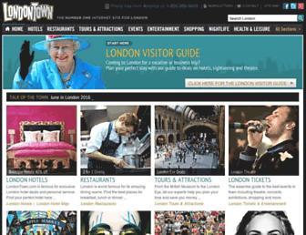 londontown.com screenshot
