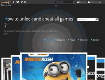 unlockergames.over-blog.com screenshot