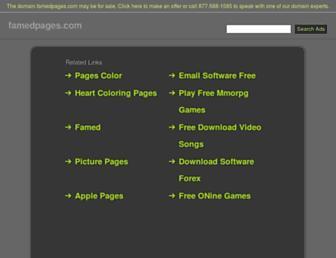 es.famedpages.com screenshot