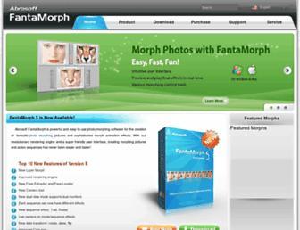 fantamorph.com screenshot