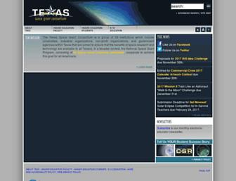 tsgc.utexas.edu screenshot