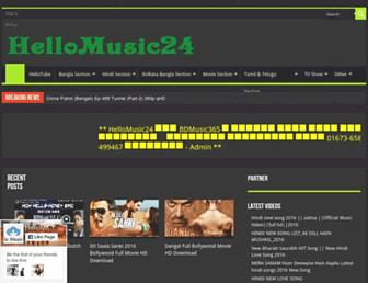 hellomusic24.com screenshot