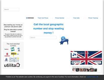 freeber.co.uk screenshot