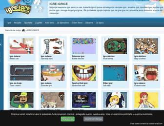 igre-igre.net screenshot