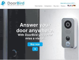 doorbird.com screenshot